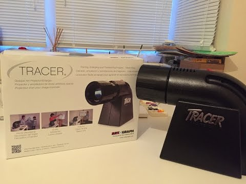 Artograph Tracer Projector Unboxing and Review