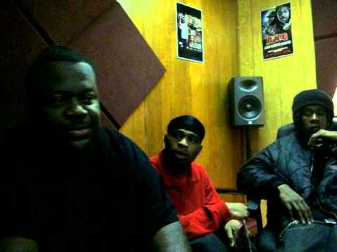 money mike j blood lil flow and phanta c in the studio with cloc and babysavage