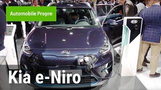 Portrait du Kia e-Niro au Mondial de Paris