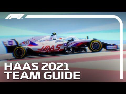 F1 2021 ハースチームを紹介した動画