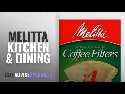 10 Best Selling Melitta Kitchen & Dining [2018 ]: Melitta Cone Coffee Filters, Natural Brown #4, 100