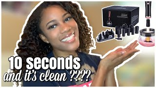 DOES IT REALLY WORK.?!| ELECTRIC MAKEUP BRUSH CLEANER FROM AMAZON| UNBOXING|CAMILLE DEADRA