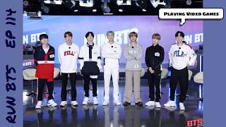[ENG SUB] Run BTS! 2020 ep 114 playing video games Full Episode