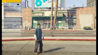 Location map all 19 convenience stores to rob - easy money in GTA 5