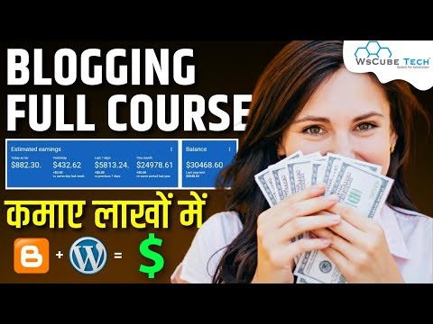 Learn Free Blogging Full Course in 4 Hours 🔥   Blogging for Beginners