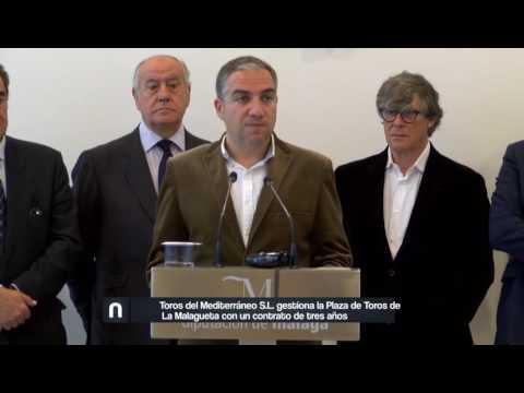 La empresa Toros del Mediterráneo gestionará la plaza de toros de la Malagueta hasta 2019