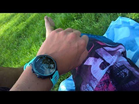 Garmin Forerunner 735XT Frost Blau in OVP