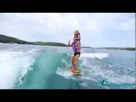 How to tandem wakesurf with your daughter