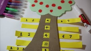 MATH GAME FOR STUDENTS | SIMPLE APPLE TREE MATH GAME- EDUCATIONAL| The4Pillars