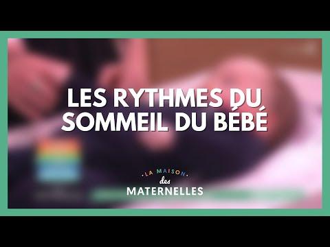Les rythmes du sommeil chez le nourrisson - La Maison des maternelles #LMDM