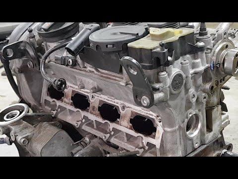 Фото к видео: Двигатель 2.0TFSI Разборка/дефектовка