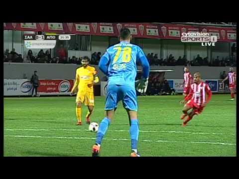 VIDEO: Τα στιγμιότυπα της πρόκρισης,  Σαλαμίνα 1-2 ΑΠΟΕΛ (2-4agg)