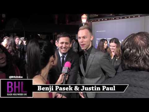 Benji Pasek & Justin Paul Interview | La La Land Premiere