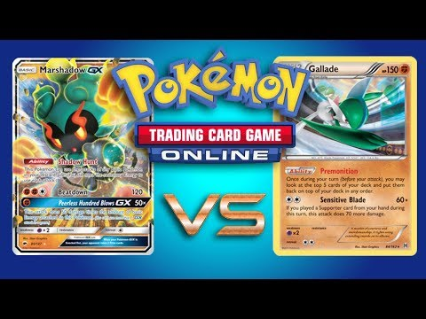 Nightmarch vs Gallade / Octillery – Expanded Pokemon TCG Online Gameplay