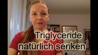 Triglyceride natürlich senken