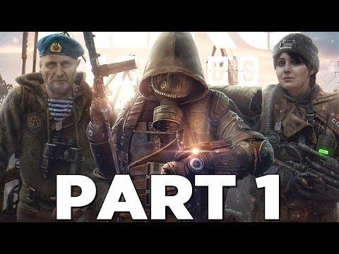 METRO EXODUS Walkthrough Gameplay Part 1 - INTRO (Xbox One X)