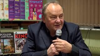 2018.01.22 Spotkanie Z Pisarzem Januszem Leonem Wiśniewskim, Autorem Bestsellera Samotność W Sieci