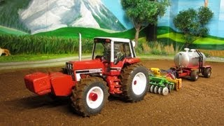 TRACTOR at FARM WORK -Amazing rc toy farming video