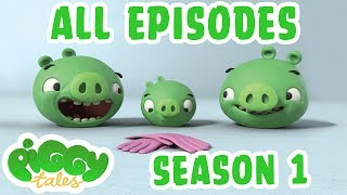 Angry Birds | Piggy Tales | All Episodes Mashup   Season 1