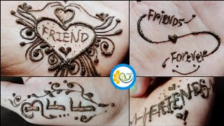 Mehndi Henna Tattoos Video For Friends | Friendship Day Special | Kirti Mehndi Designs