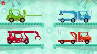 Car Driving For Kids: Car McQueen, Monster Truck | NEW Car Dinosaur Cartoons Videos For Children