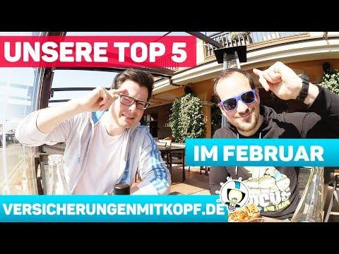 Unsere TOP 5 im Februar | Nacho Test | VMK feat. AMK