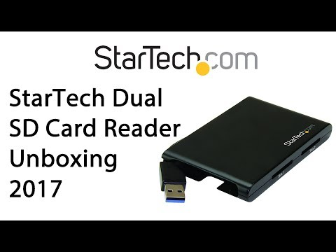 ​ StarTech.com Dual-Slot SD Card Reader/Writer – USB 3.0 Unboxing Review