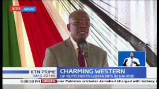 DP Ruto charms Luhya leaders