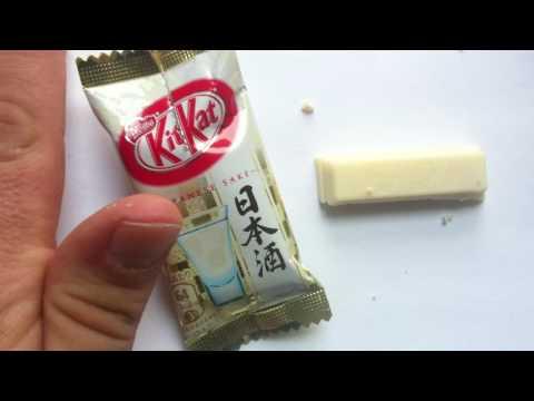 Kit Kat Japanese Sake review