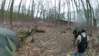 preview picture of video 'Paintball in Preussisch Oldendorf - Battle #1 - 13.01.2013 UNCUT'