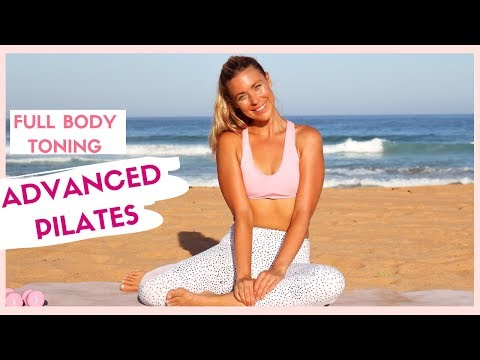 TIGHTEN and TONE 💪💕 Intense Mat Pilates Home Workout