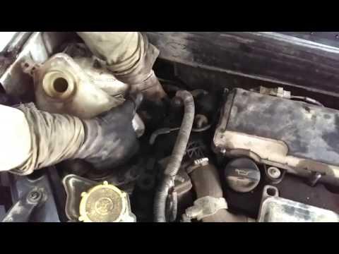 Der Aufwand des Benzins dodge caravan