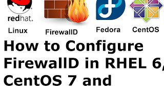How to Configure FirewallD in RHEL Linux 6, CentOS 7 and Fedora 23/22/21