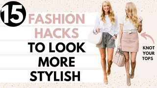 15 FASHION HACKS EVERY GIRL SHOULD KNOW 🙌🏻 Amanda John