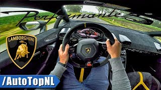 LAMBORGHINI HURACAN PERFORMANTE LP640-4 POV Test Drive by AutoTopNL