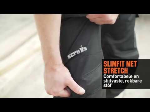 Scruffs Trade Flex werkbroek met kniezakken