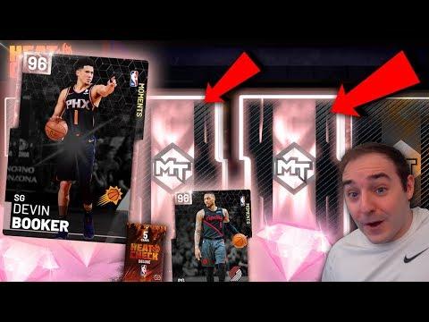 NBA 2K19 My Team NEW PINK DIAMONDS MOMENTS! MULTIPLE PINK DIAMOND PULLS BEST BOX YET!!!