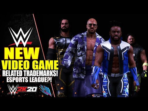 WWE Files Two NEW VIDEO GAME Related Trademarks! (ESports League Plans?)