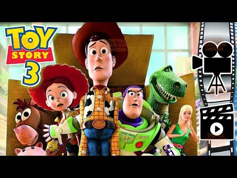 TOY STORY 3 ENGLISH FULL MOVIE GAME Disney Pixar Studios Woody Jessie Buzz Lightyear