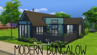 The Sims 4 | Modern Bungalow- Speed Build
