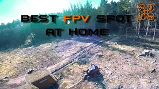 My Eighth Drone Flight - FPV FreeStyle (Trained before in a Simulator)
