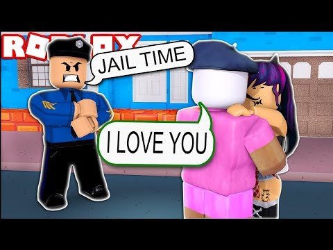 GETTING ARRESTED FOR KISSING A GIRL (Roblox Jailbreak)