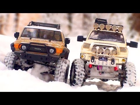 RC Car OFF Road HPI Venture Toyota FJ Cruiser Snow Test Drive — RC Extreme Pictures