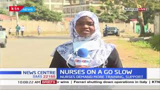 Nurses at Mbagathi Hospital on a go-slow due to lack of protective gear