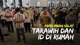 PBNU Beri Imbauan Terkait Ibadah Ramadan, Said Aqil: Salat Tarawih dan Id di Rumah