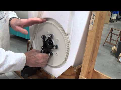 Nauticraft Pedal Boats - Crank Removal