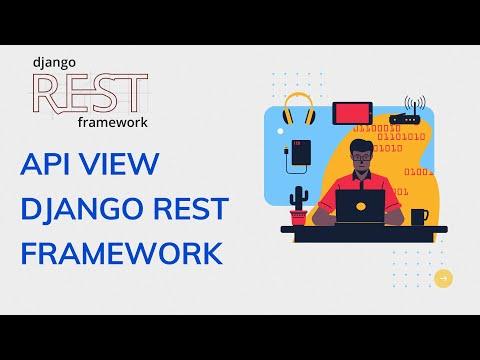 API view Django Rest framework | Django rest framework tutorial thumbnail