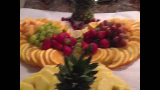 How To Do Butterfly Fruit Displays