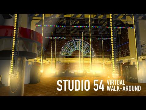 Studio 54 New York virtual walk-around