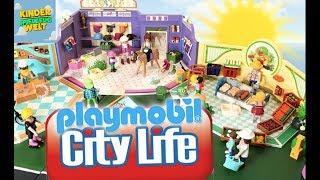 Playmobil - auf Shopping Tour - City Life - aufgebaut und vorgestellt / Kinder Spielzeugwelt